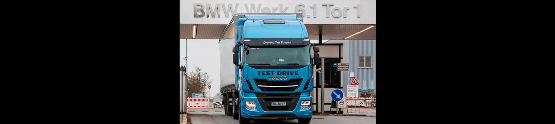 BMW Group, ?İnovasyon ve Endüstri 4.0? projesi kapsamında lojistik hizmetleri için LNG teknolojisini test etmek üzere Stralis NP?yi seçiyor